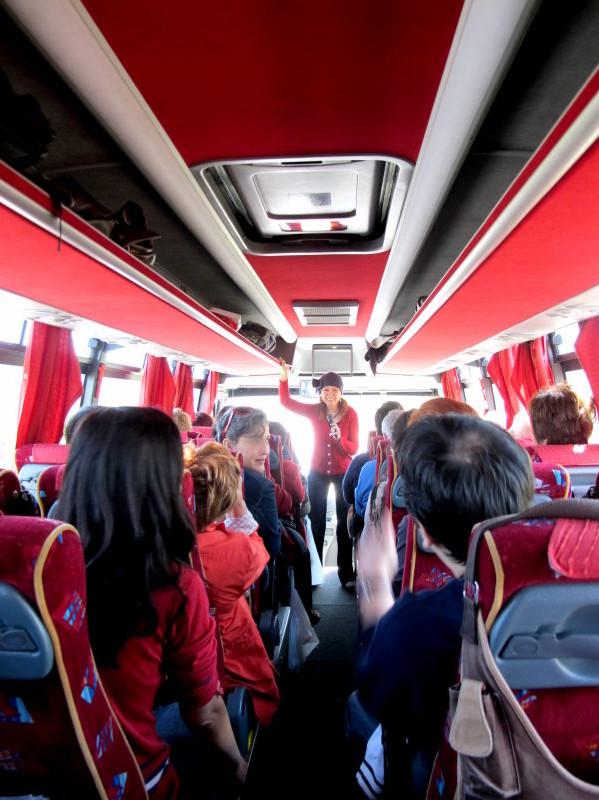 Meşhur otobüsümüz ve Özge