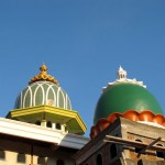 Pematuran'da bir cami inşaatı